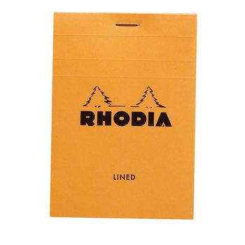 RHODIA Orange Bloc agrafé N°12 8,5x12cm 80F ligné 80g