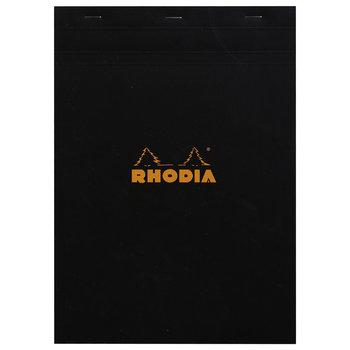 RHODIA Noir Bloc agrafé N°18 A4 80F Q.5x5 80g