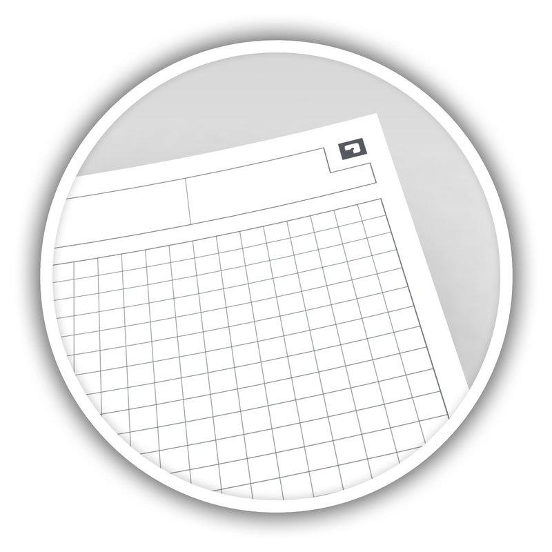OXFORD Cahier Activebook Spirale  B5 -  intégrale couverture Polypro - 160 pages 80 g -  Petits carreaux