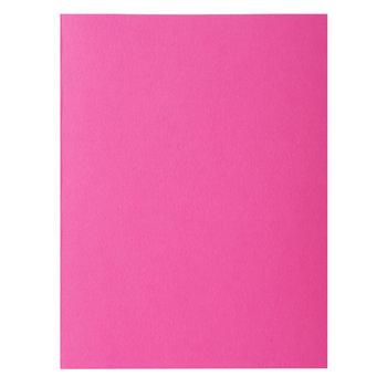 EXACOMPTA Paquet de 10 chemises ROCK''S 210 - 24x32cm - Rose