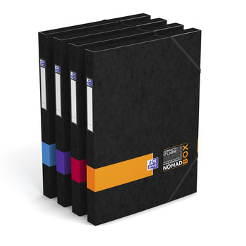 OXFORD Boîte Nomadbox - 24X32 - Dos 25 mm - Couleurs assorties