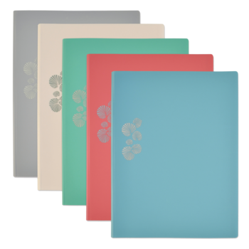 OXFORD Protège Documents Pastel - A4 - 50 pochettes, 100 vues - Polypro - Couleurs assorties