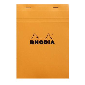 RHODIA Orange Bloc agrafé N°18 A4 petits carreaux 5x5