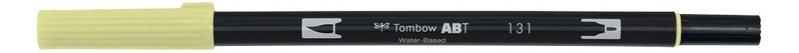 TOMBOW ABT-131 Feutres pinceaux Dual Brush Pen, lemon lime