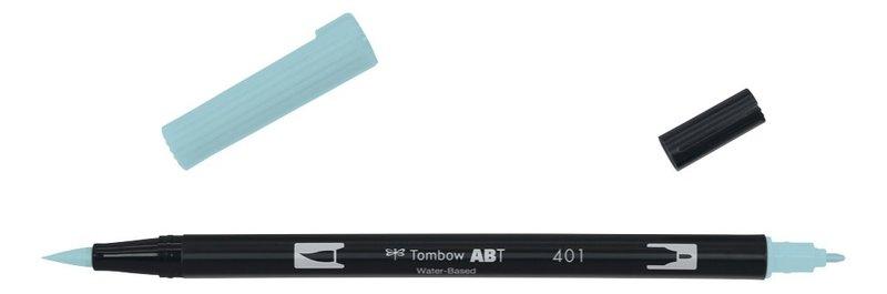 TOMBOW ABT-401 Feutres pinceaux Dual Brush Pen, aqua