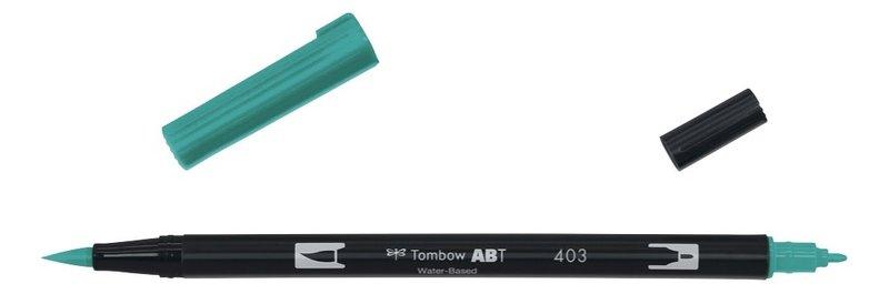 TOMBOW ABT-403 Feutres pinceaux Dual Brush Pen, bright blue