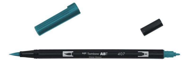 TOMBOW ABT-407 Feutres pinceaux Dual Brush Pen, tiki teal