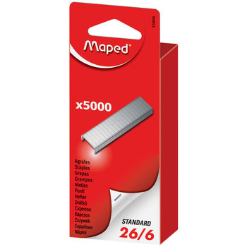 MAPED Boîte de 5 000 agrafes 26/6 - boîte brochable