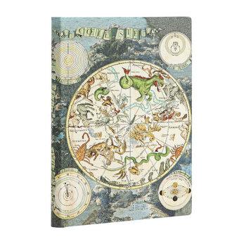 PAPERBLANKS Ancienne Cartographie Planisphère Céleste Mini Non Ligné