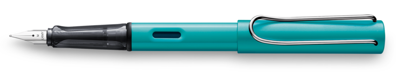LAMY Stylo Plume AL-star Turquoise Plume taille F