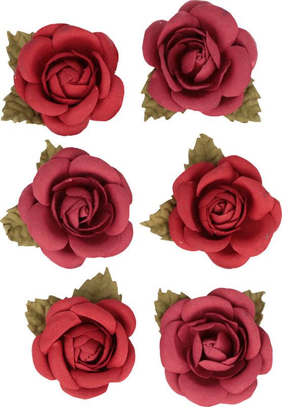 ARTEMIO 6 Roses Papier Viva La Vida