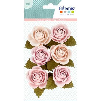 ARTEMIO 6 Fleurs En Papier Secret Garden