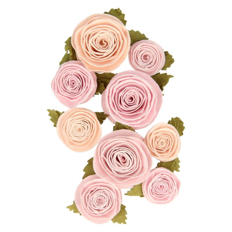 ARTEMIO 9 Fleurs En Papier Secret Garden