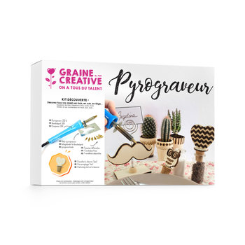 GRAINE CREATIVE Kit Pyrogravure  270X190X55