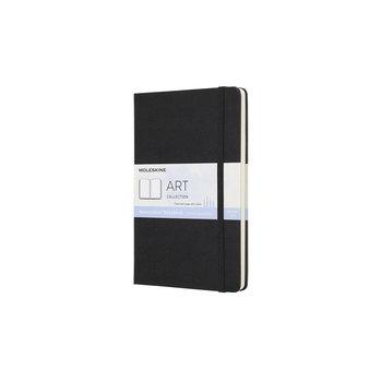 MOLESKINE ART Carnet aquarelle grand format - Noir