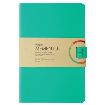 ALADINE Memento Journal A5 Turquoise Blue