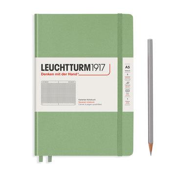LEUCHTTURM Sauge, Medium (A5), 251 p., quadrillé
