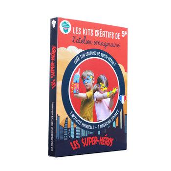 L'ATELIER IMAGINAIRE Kit créatif Super-Heros