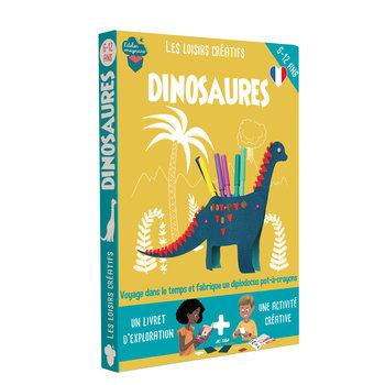 L'ATELIER IMAGINAIRE Kit créatif Dinosaures