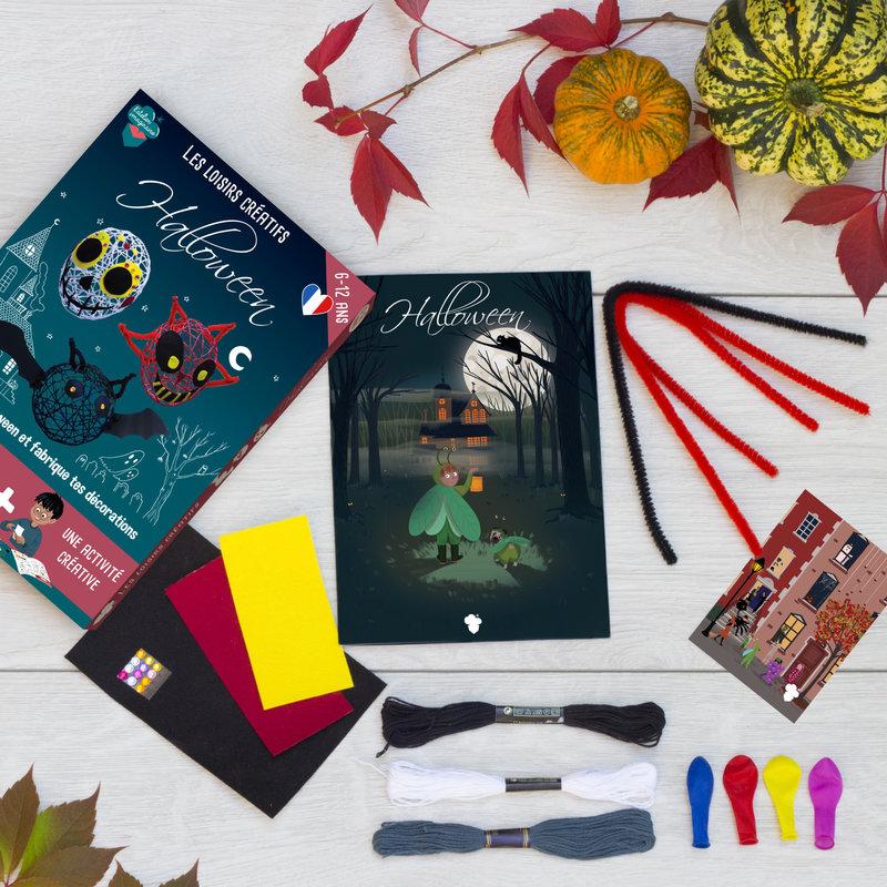 L'ATELIER IMAGINAIRE Kit créatif Halloween