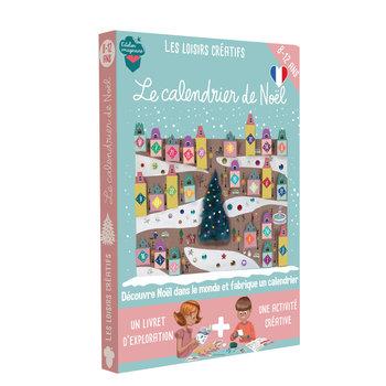 L'ATELIER IMAGINAIRE Kit créatif Calendrier de Noël