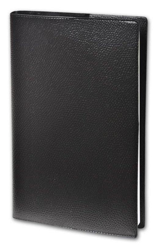 QUO VADIS Agenda Civil Affaires Impala semainier 10x15cm Coloris noir