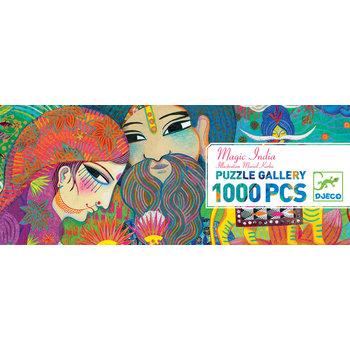DJECO Puzzle Gallery Magic India - 1000 pcs