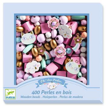 LOVELY PAPER Perles et bijoux Perles bois - Arc-en-ciel