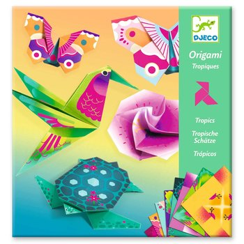 LOVELY PAPER Origami Tropiques