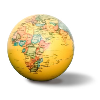 EGG Globe 14 Cm Antique Autorotatif Lumineux