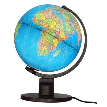 EGG Globe 25 Cm Bleu Lumineux Politique