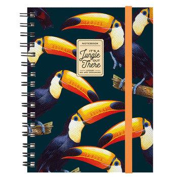 LEGAMI Maxi Trio Spiral Notebook - Toucans