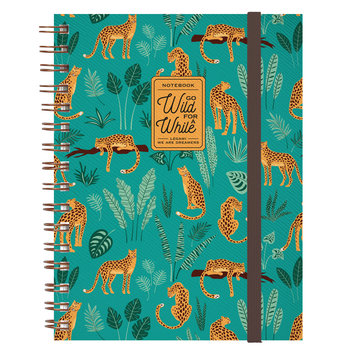 LEGAMI Notebook With Spiral - Large - Cheetah