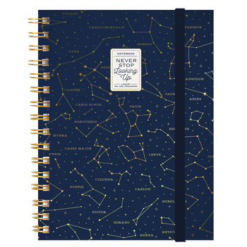 LEGAMI Notebook With Spiral - Large - Stars