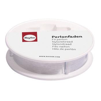 RAYHER Fil perlon transparent 25mx0,7mm ø