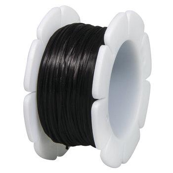 RAYHER Fil élastique 5mx1mm ø - noir