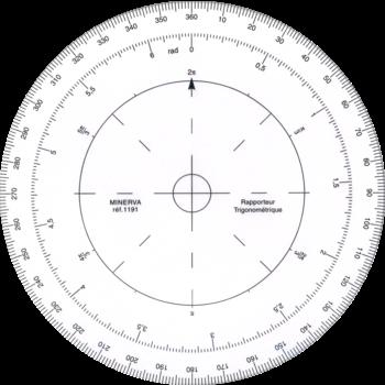 MINERVA Rapporteur Trigonométrique n° 1191