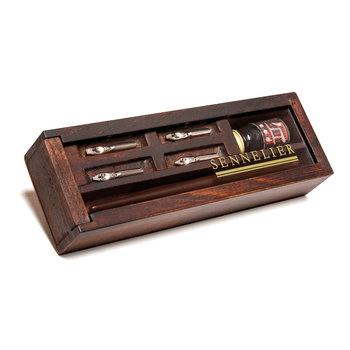 SENNELIER Coffret bois Calligraphie encre de Chine Sennelier