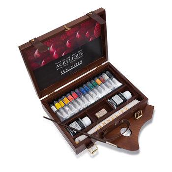 SENNELIER Coffret bois Peinture Acrylique Extra-Fine Sennelier 15x21ml