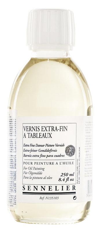 SENNELIER Additif Vernis Extra fin à tableaux Flacon 250ml