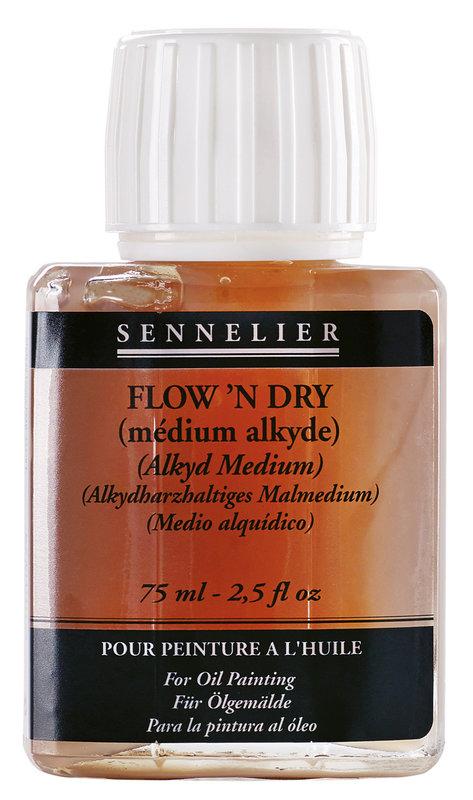 SENNELIER Additif Médium Flow'n Dry Flacon 75ml