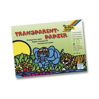 RAYHER Papier transparent vitrail 20x30cm 42g/m2 10 feuilles couleurs assorties
