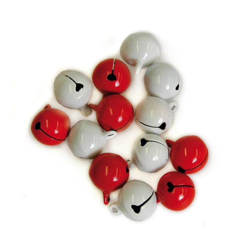 ARTEMIO 10 Grelots Blancs Et Rouges