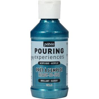 PEBEO Pouring Experiences Flacon 118ml Bleu cobalt