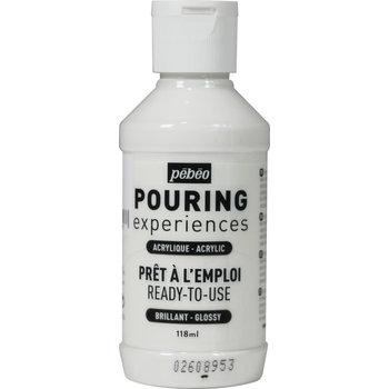 PEBEO Pouring Experiences Flacon 118ml Blanc de titane