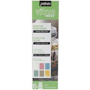 PEBEO Set initiation Vitrail  6x20ml n°3 Pastel