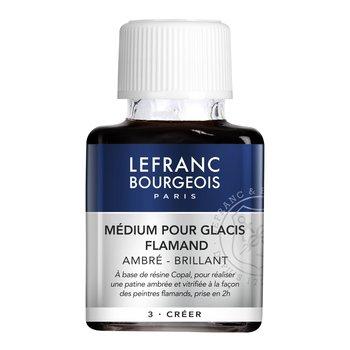 LEFRANC BOURGEOIS Additif Medium Pour Glacis Flamand Ambre-Brillant 75Ml