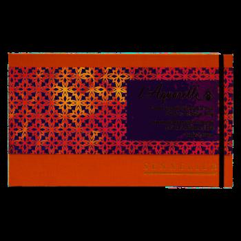 SENNELIER Carnet aquarelle 15x25cm 20f 300g
