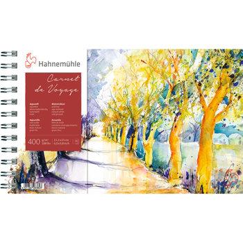HAHNEMUHLE Carnet voyage aquarelle 400g 15,3x25 15 feuilles