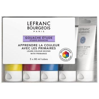 LEFRANC BOURGEOIS Study Gouache Colour 5X80Ml Set Etudiant